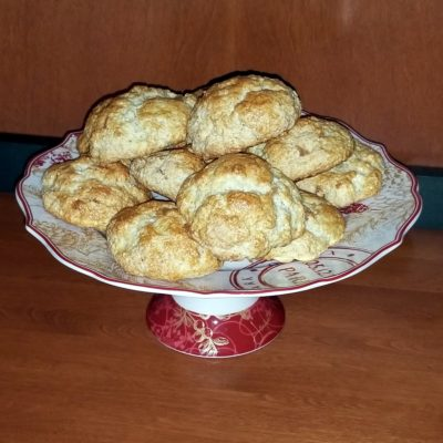 Ginger and Cardamom Scones