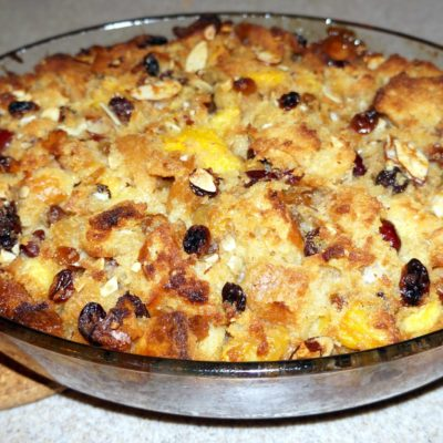 Cuban diplomat bread pudding