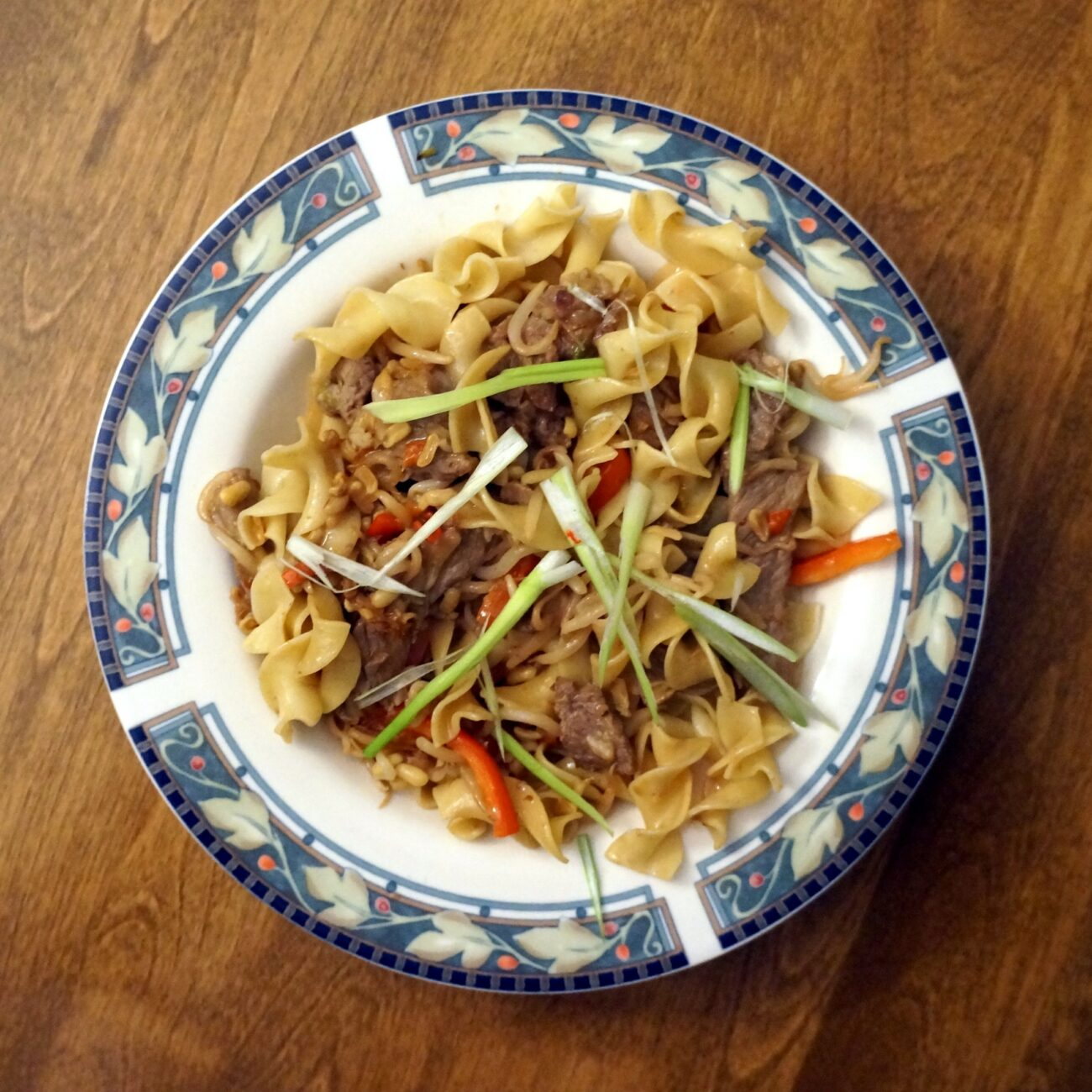 Stir Fry Beef with Bean Sprouts